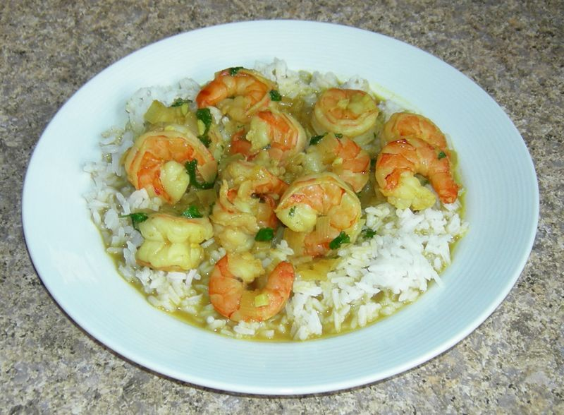 Ftfive07-curried-shrimp-with-cilantro-lime-garlic