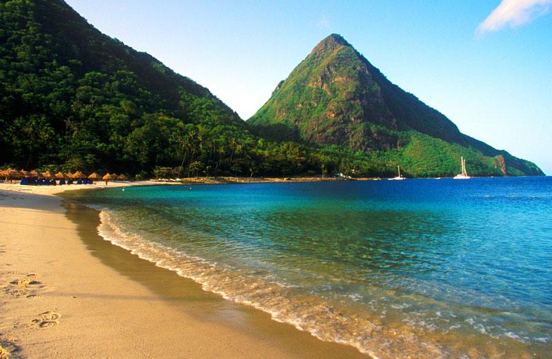 Stlucia beach