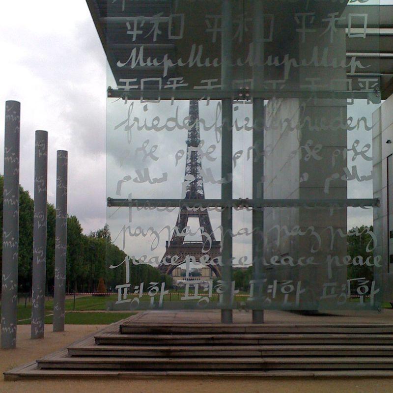 Paris-peacewall