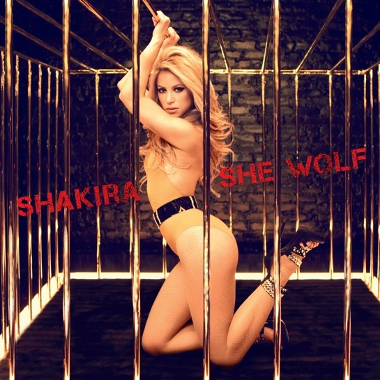 Shakira-she-wolf-cover-photos